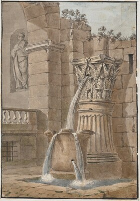 Fountain in a Courtyard