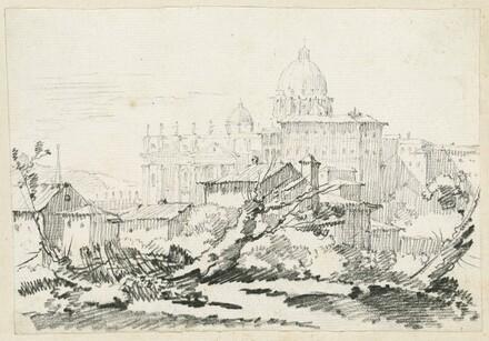 Saint Peter's Basilica and the Papal Palace