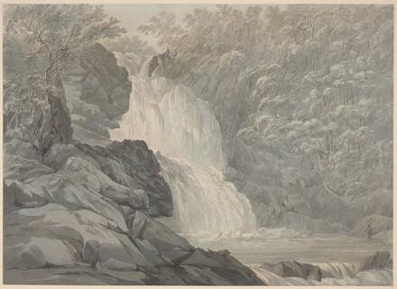 Mawddach Falls near Dolgelly