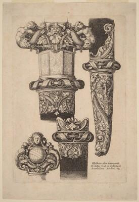 Ornamentation for a Dagger and Scabbard