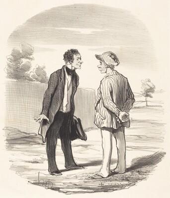 Oui, monsieur Gimblet, l'ordre ne sera... rétabli...