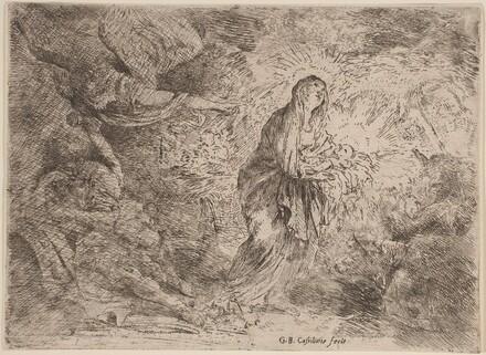 Joseph Awakened by the Angel