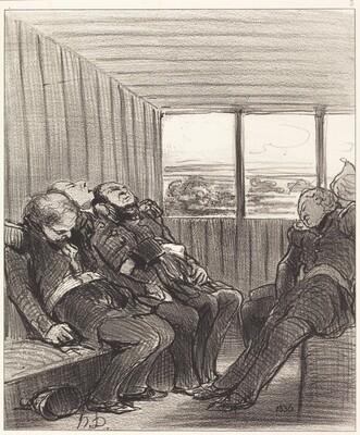 Le Voyage en chemin de fer...