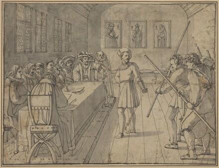 Scene from Act IV from Goethe's Gotz von Berlichingen