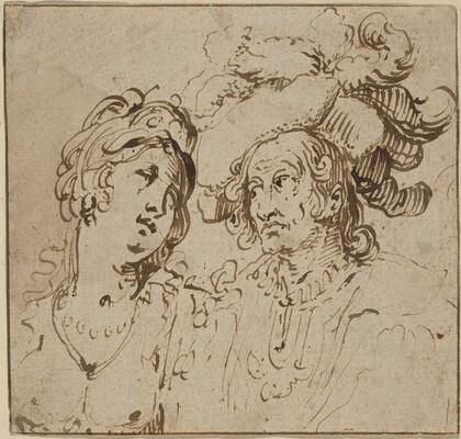 Cavalier with a Harlot