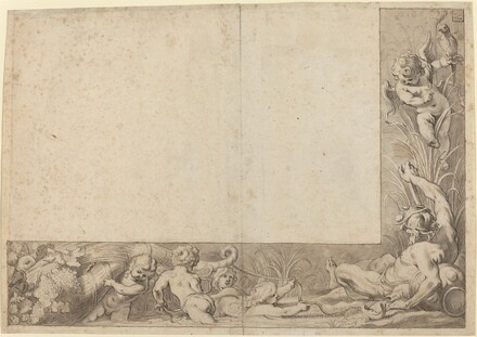River God with Putti