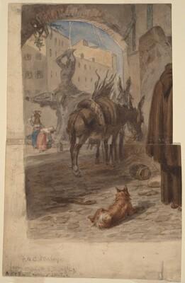 Bernini Fountain, Rome [recto]