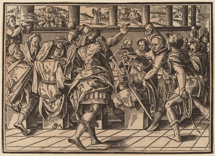 The Martyrdom of Saint James (?)
