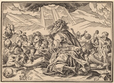 Christ Tells His Disciples of the Last Judgment