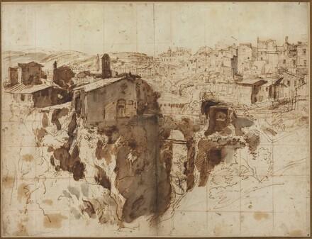 The Waterfall and Town of Tivoli