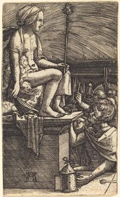 The Roman Courtesan (The Revenge of the Magician Virgil)