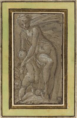 Nude with Putto
