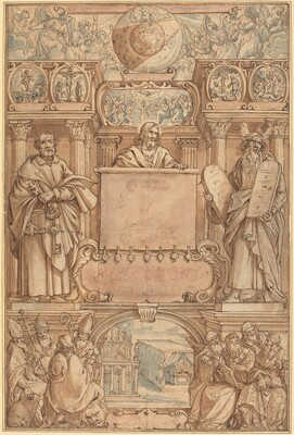 Title Page for a Bible