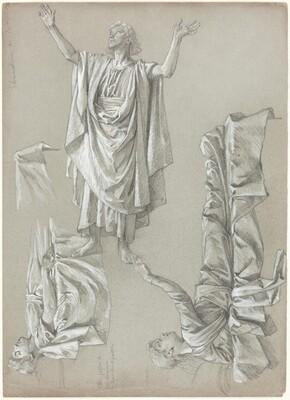 Studies for the Raising of the Daughter of Jairus