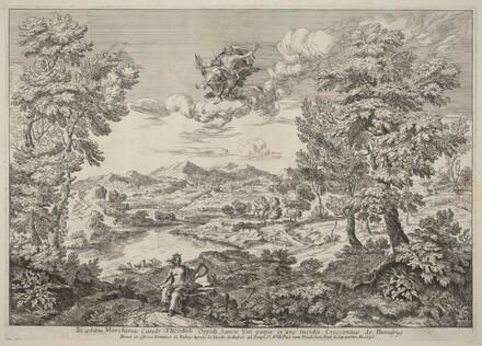 Jupiter in a Landscape