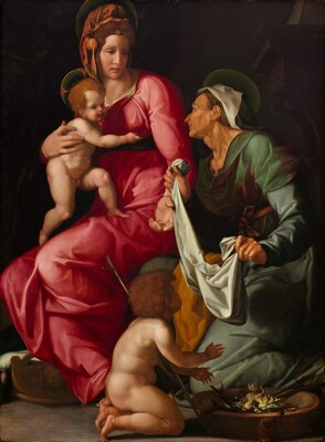 Madonna and Child with Saint Elizabeth and Saint John the Baptist