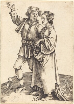 Peasant and His Wife