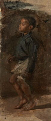 Study for  Negro Boy Dancing : The Boy