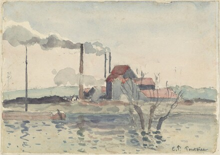 Factory on the Oise at Pontoise