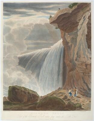 Niagara Falls from Under Table Rock