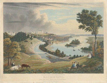 Richmond: From the Hill above the Waterworks