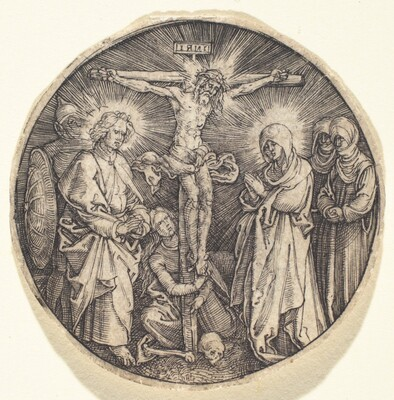 The Crucifixion called the Sword Pommel of Maximilian