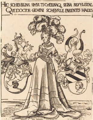 Bookplate of Scheurl and Tucher