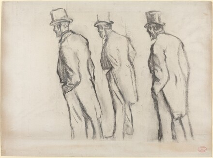 Three Studies of Ludovic Halevy Standing