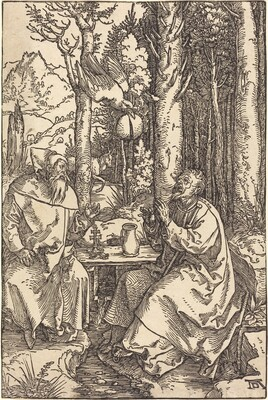 Saint Anthony and Saint Paul in the Wilderness