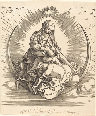 The Madonna on the Crescent
