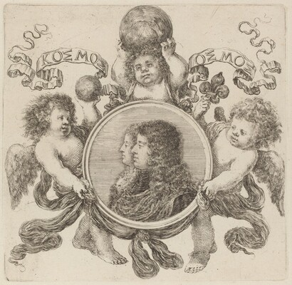 Cosimo de Medici, Prince of Tuscany and Marguerite Louise d'Orléans