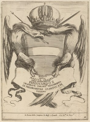 Arms with a Dedication to Grand Duke Ferdinand II