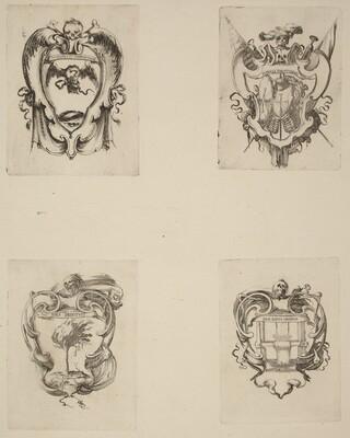 Four Emblems for the Funeral of Prince Francesco de Medici