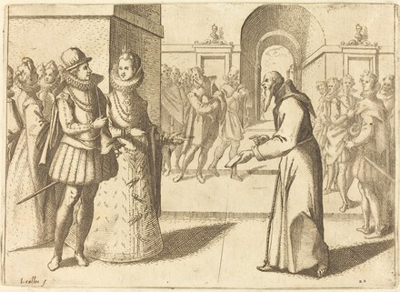 A Capucio Bringing Thanks of the King of Bavaria
