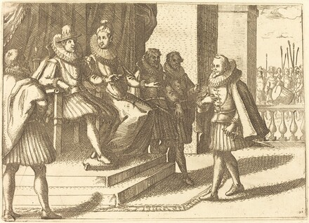 King and Queen in Consultation about the Turks