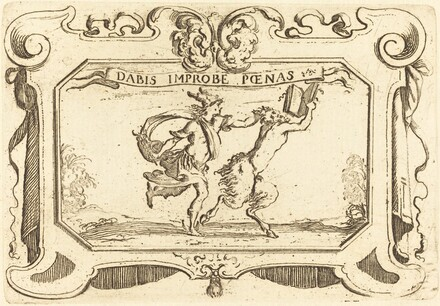 Mercury Chasing a Satyr Holding a Book