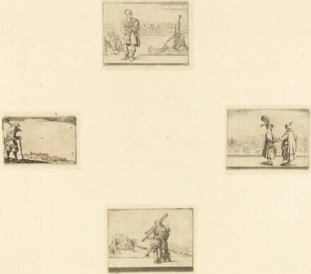 Sheet of Etchings