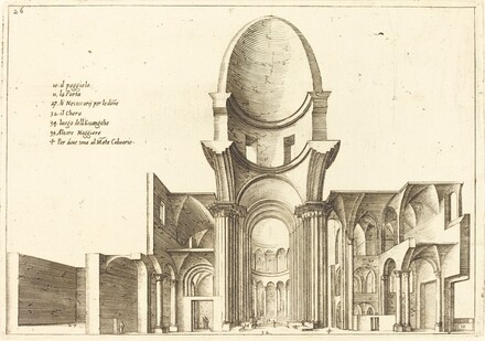 Cross-Section of a Church