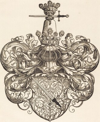 Coat of Arms of the Family Kress von Kressenstein