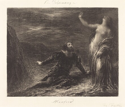 Manfred and Astarte (2nd plate)