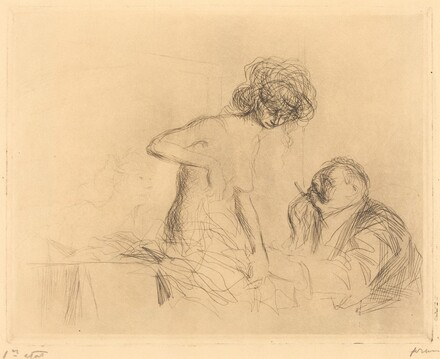 In a Private Room (first plate)