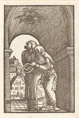 Joachim Embracing Anna