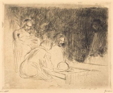The Supper at Emmaus (third plate)