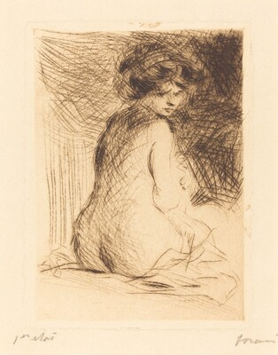 Nude Woman Seen from the Back