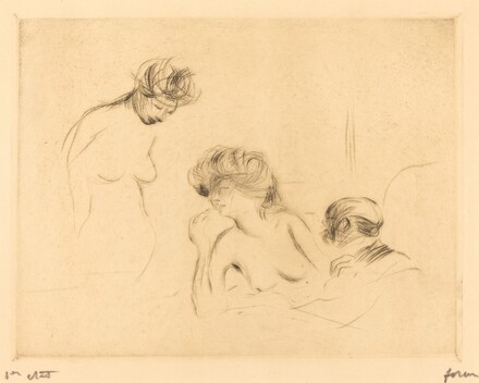 In a Private Room (third plate)