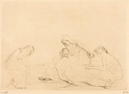 Pietà (third plate)