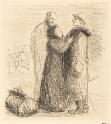 The Departure of the Prodigal Son (first plate, vertical)