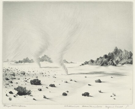 Whirlwinds, Dead Mountains, Mojave Desert