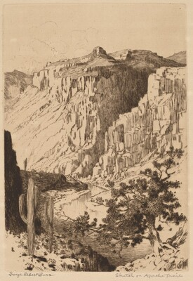 Sketch on Apache Trail