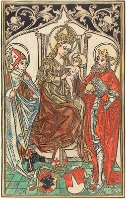 The Madonna and Child Enthroned, with Saints Corbinian and Sigismund
